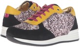 Dolce & Gabbana Escape Sequin Low Top Sneaker (Little Kid/Big Kid)