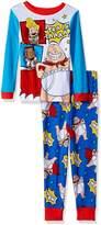 AME Sleepwear Dreamworks 'Captain Underpants' Movie Cotton Pajamas for boys