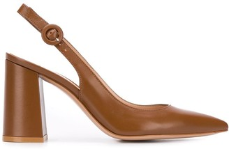 Gianvito Rossi Agata sling-back pointed pumps