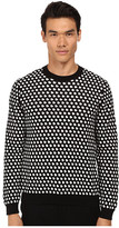 Marc by Marc Jacobs Shield Jacquard Sweater