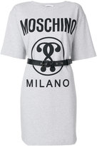 Moschino belted T-shirt dress