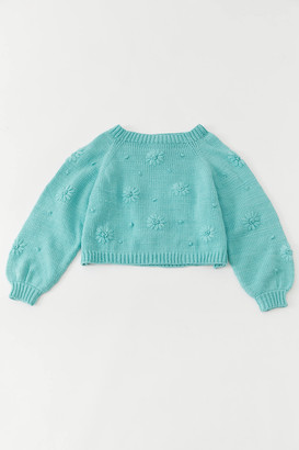 Tach Clothing Jana Embroidered Cropped Sweater