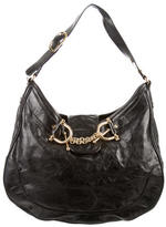 Tory Burch Chain-Link Horsebit Hobo