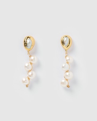 Miz Casa and Co - Women's Earrings - Lady Jane Drop Earrings - Size One Size at The Iconic