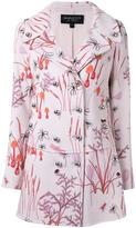 Giambattista Valli floral print coat - women - Cotton/Nylon/Viscose - 42