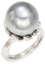Kenneth Jay Lane Faux Pearl Ring