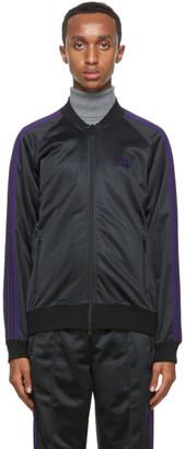 Needles Black Tricot Track Jacket