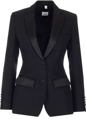 Burberry Fitted Blazer