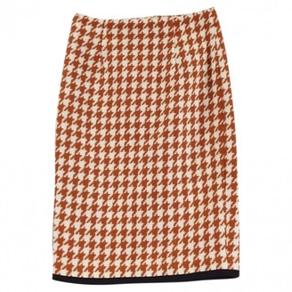 Manoush \N Orange Wool Skirt for Women