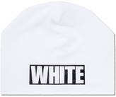 White Mountaineering Printed Beanie Cap
