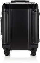 "Zero Halliburton Men's Geo Aluminum 2.0 20"" Carry-On Spinner Trolley-BLACK"