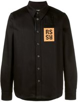 Raf Simons coated denim shirt
