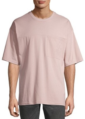 No Boundaries Men's and Big Men's Short Sleeve Pocket Tee, up to Size 5XL