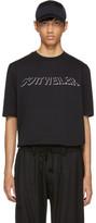 Cottweiler Black Holographic Logo T-shirt