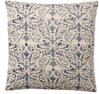 Pottery Barn Reilley Linen Embroidered Pillow Covers