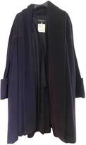 Chanel Purple Wool Coat for Women Vintage