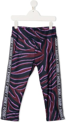 Molo TEEN Orlaith zebra-print leggings