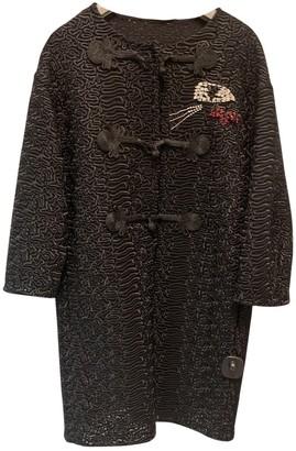 Ermanno Scervino Black Coat for Women