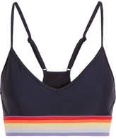 The Upside Andie Stretch-jersey Sports Bra - Midnight blue