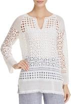 Nic+Zoe Free Spirit Lace Tunic