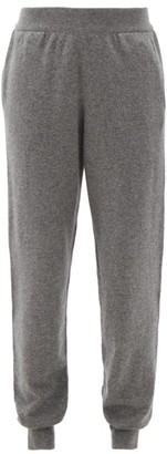 The Row Ardo Cashmere Track Pants - Dark Grey