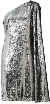 Stella McCartney One-Shoulder Sequin Mini Dress