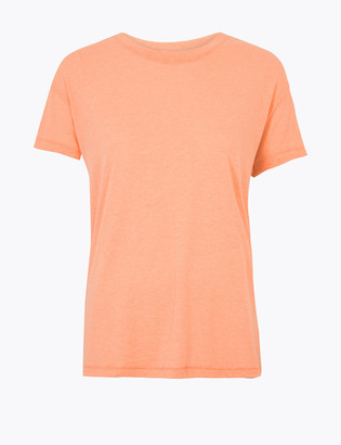 Marks and Spencer Round Neck Relaxed T-Shirt