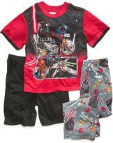 Star Wars AME Boys' or Little Boys' 3-Piece Lego Pajamas
