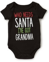 Baby Starters 3-12 Months Christmas Santa/Grandma Bodysuit