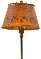 Rejuvenation Charming Romance Revival Floor Lamp w/ Mica Shade c1920s