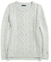 Tommy Hilfiger Cable Crew Neck Sweater