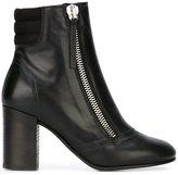 Diesel side zip boots