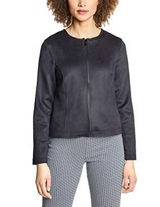 Street One Women's 2958 Suit Jacket, (Onyx Grey 4), UK