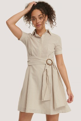 Trendyol Belt Detailed Mini Dress
