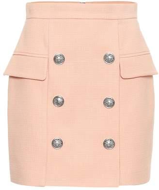 Balmain Cotton miniskirt