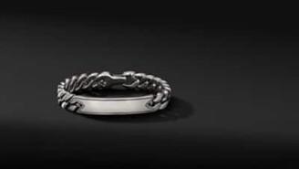 David Yurman Curb Chain Id Bracelet