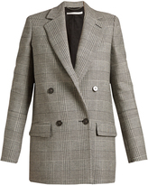 Stella McCartney Milly Prince of Wales-checked blazer