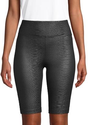 Koral Activewear Textured Bike Shorts