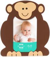 Prinz Little Safari 4-Inch x 6-Inch Monkey Picture Frame in Brown
