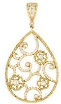 Penny Preville 18K Diamond Floral Pendant