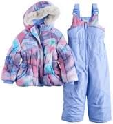 ZeroXposur Toddler Girl Cleo Jacket & Bib Snow Pants Set