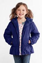 Lands' End Little Girls' Reversible Fleece Jacket