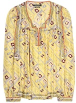 Isabel Marant Printed Silk Blouse