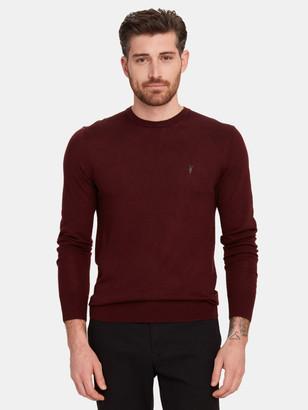 AllSaints Mode Merino Wool Crewneck Sweater