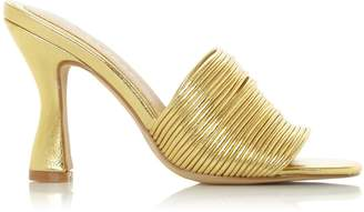 Dorothy Perkins Womens *Head Over Heels By Dune Gold 'Mae' High Heel Sandals, Gold