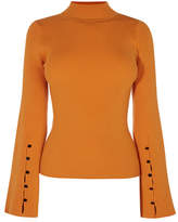 Karen Millen Fluted Sleeve Knitted Jumper