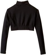 Capezio Team Basic Turtleneck Long Sleeve Top Girl's Clothing
