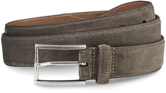Allen Edmonds Suede Avenue Leather Belt