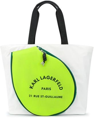 Karl Lagerfeld Paris Rue St Guillaume tennis tote