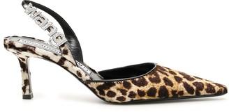 Alexander Wang Leopard Grace Slingbacks